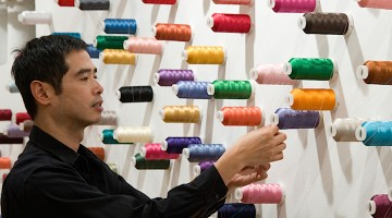 The Mending Project, 2009. Installation view, Lombard-Freid Projects, New York. In the collection of Rudy Tseng, Taipei. Photograph by Anita Kan. Courtesy of the Mori Art Museum, Japan.