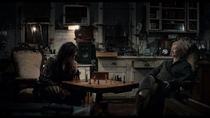 "Still from ""Only Lovers Left Alive."" Film, 2013. Dir. Jim Jarmusch."