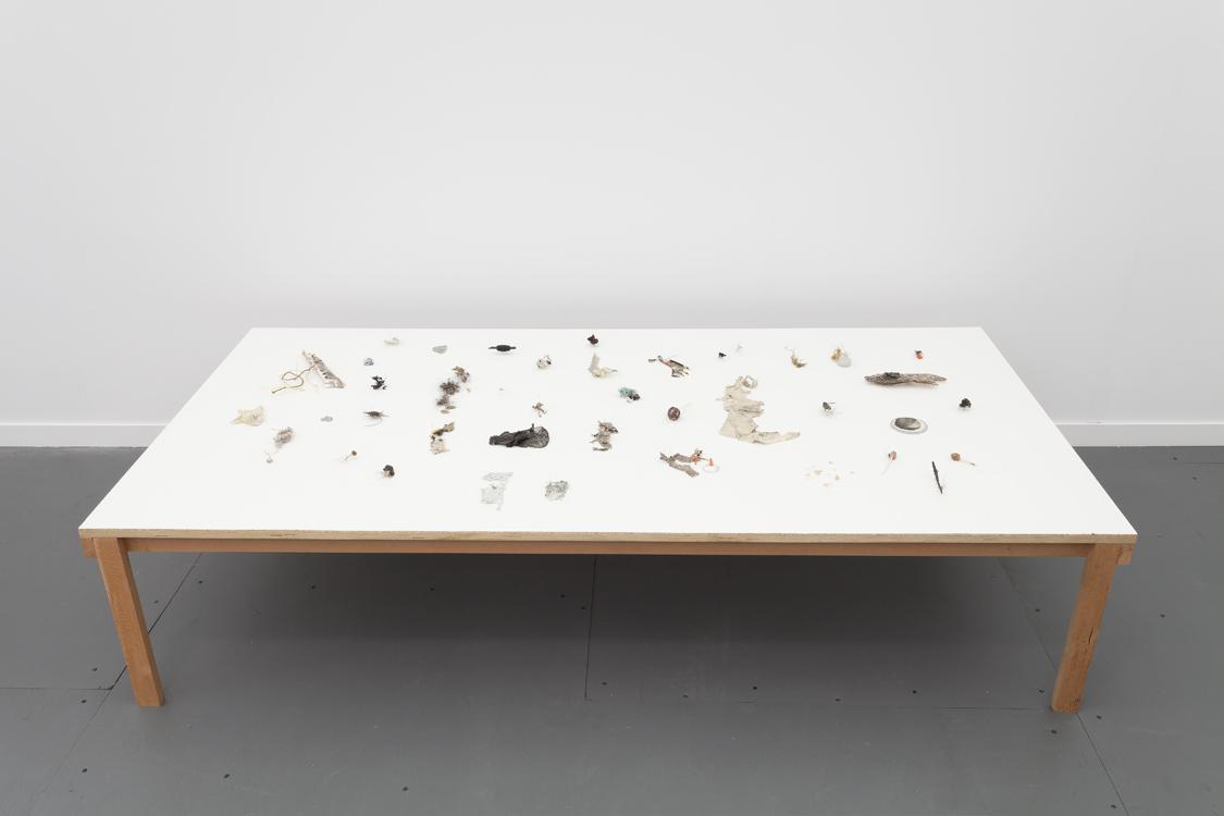 Yuji Agematsu, installation at Frieze Art Fair. Courtesy of Real Fine Arts, New York.