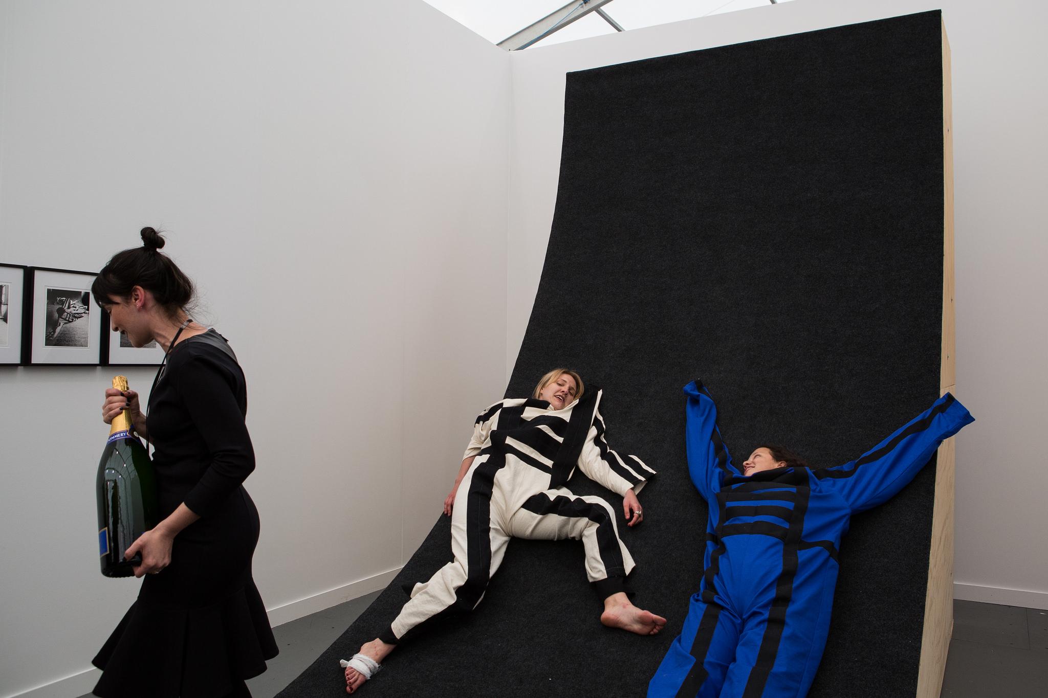 Stand Prize: Galeria Jaqueline Martins, Frieze New York 2015. Photograph by Marco Scozzaro. Courtesy of Marco Scozzaro/Frieze.