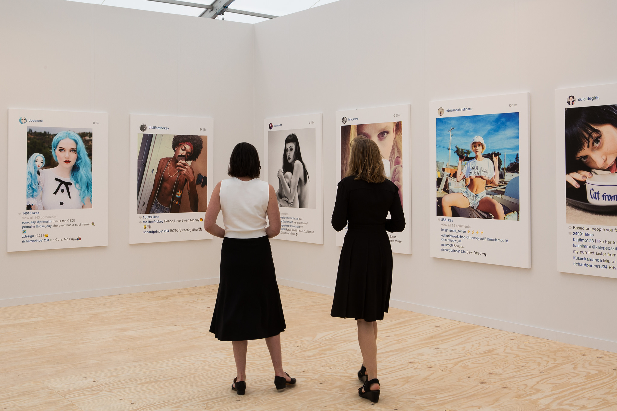 Gagosian, Frieze New York 2015. Photograph by Marco Scozzaro. Courtesy of Marco Scozzaro/Frieze.