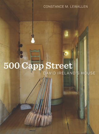 "Book Cover. ""500 Capp Street."" Constance Lewallen. Hardcover, 120 pages ISBN: 9780520280281 April 2015"