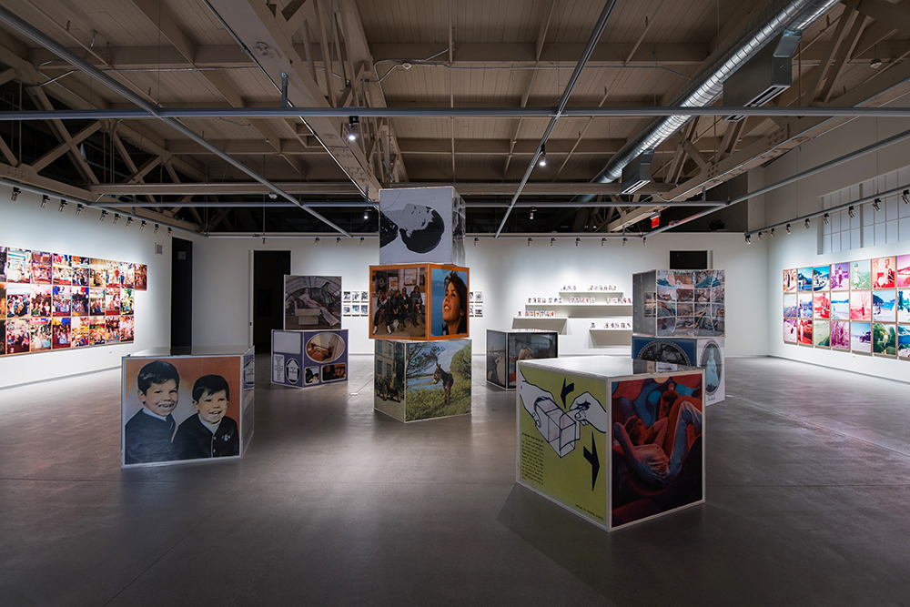 Erik Kessels, in almost every picture #1, #3, #4, #7, #8 and #9, 2014 [Installation view 2014, Pier 24 Photography]. Courtesy Pier 24 Photography, San Francisco.
