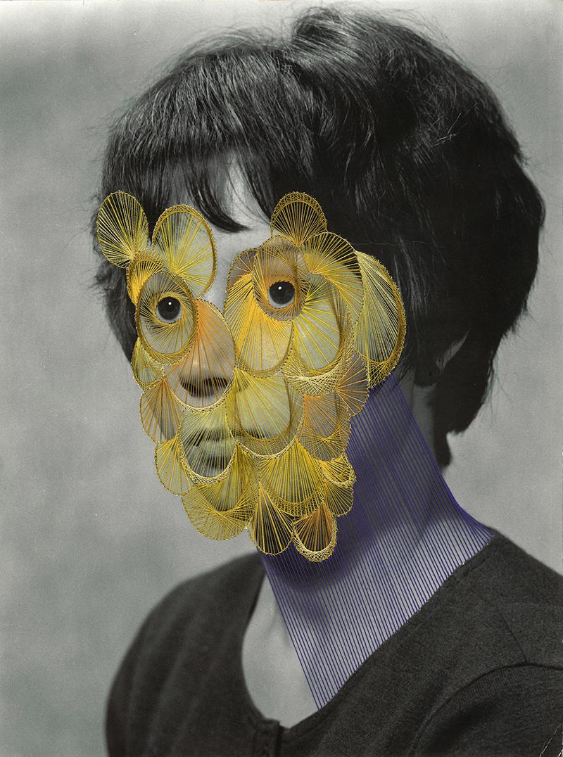 Maurizio Anzeri, Lucia, 2010. Courtesy the artist.