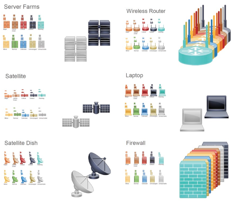 CISCO Systems icon library. Courtesy of the Internet.