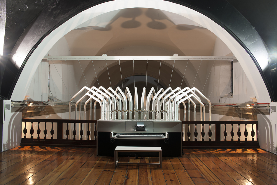 Tania Candiani, Órgano/Organ, 2012. Laboratorio Arte Alameda, Mexico City. Photograph by Jaime Navarro. Courtesy of the artist.