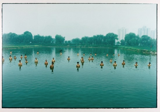 Zhang Huan, To Raise The Water Level in a Fishpond (Distant), 1997. C-print on fuji archival paper, edition 2 of 15. © Zhang Huan. Courtesy of the Rubell Family Collection and the Asian Art Museum.