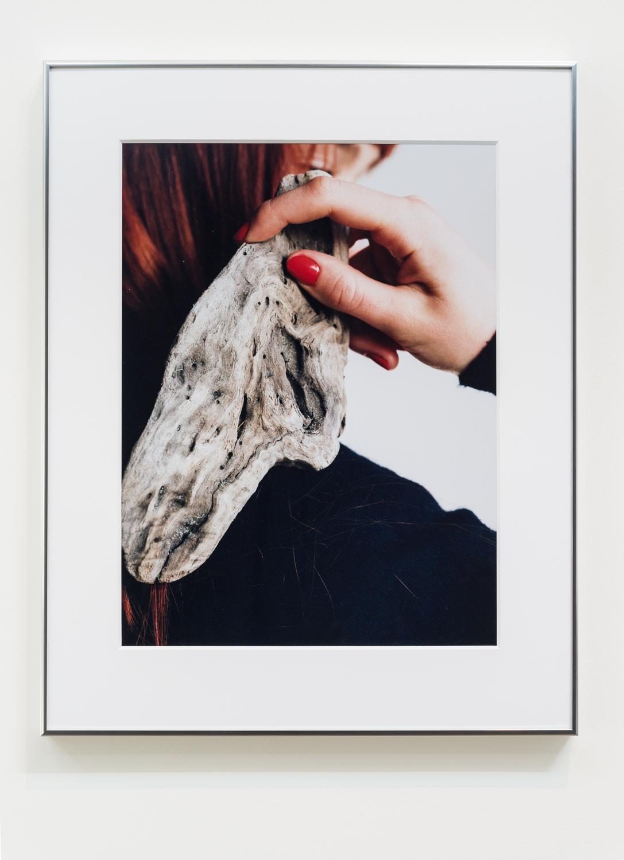"Josephine Pryde, ""Gift Für Mich, Galerie Neu Christmas 2014 (1)."" 2015. C-print. 23 ¼ x 17 ¼ inches. Edition 3/3"