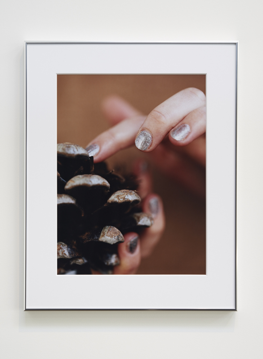 """Josephine Pryde, """"A Cone,"""" 2015. C-print. 23 ¼ x 17 ¼ inches. Edition 3/3"""