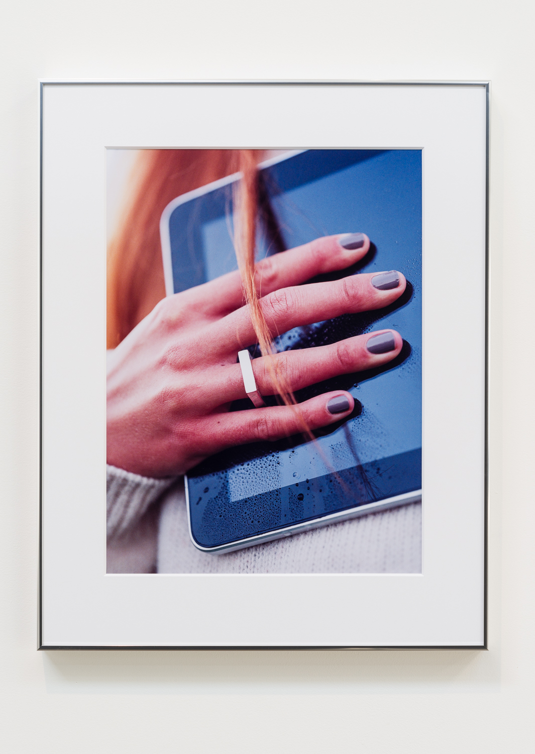 """Josephine Pryde, """"For Myself,"""" 2014. C-print. 23 ¼ x 17 ¼ inches. Edition 3/3"""