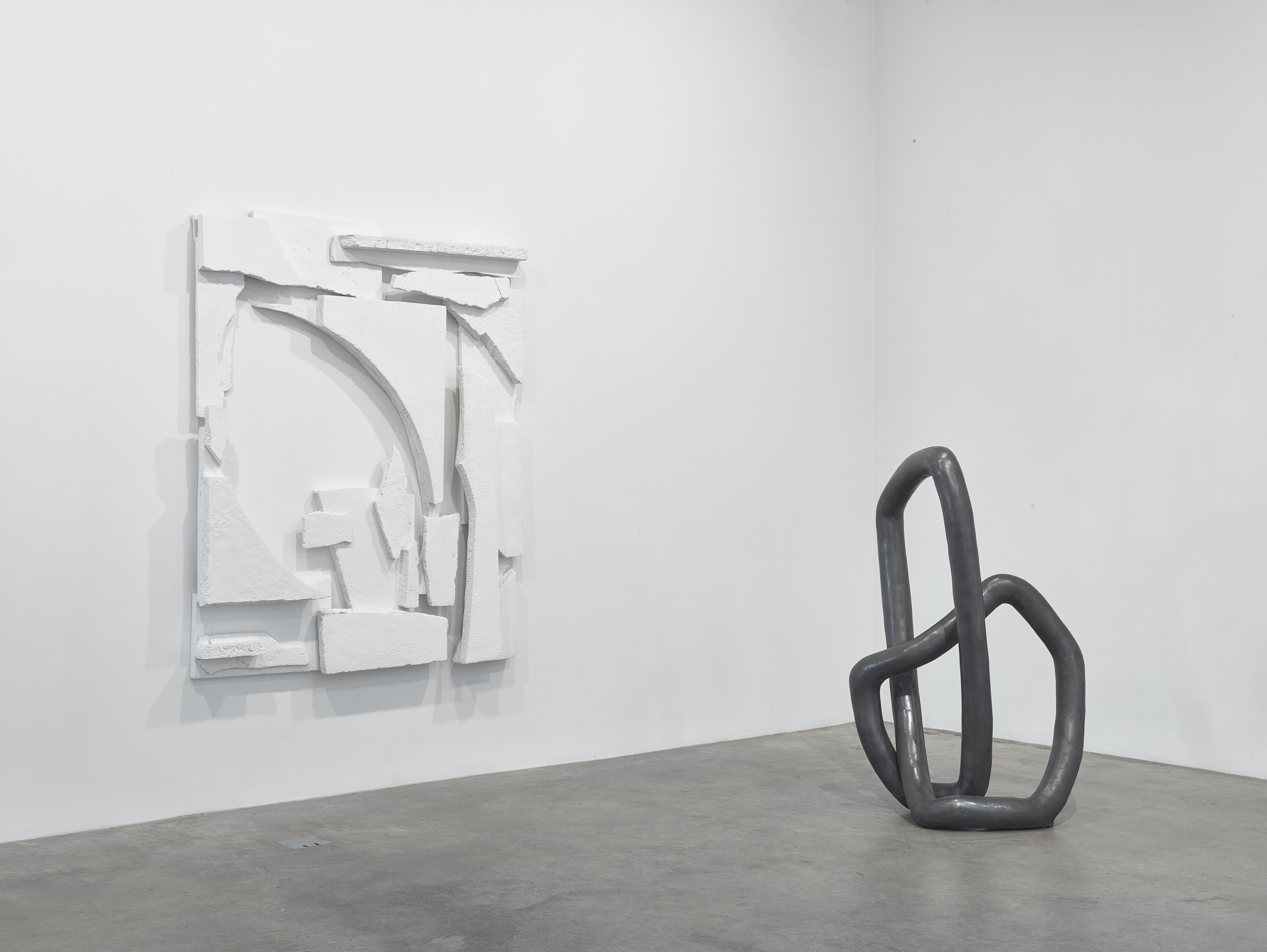 Installation view, Carolyn Salas at Koenig & Clinton, New York, 2015. Courtesy of Koenig & Clinton.