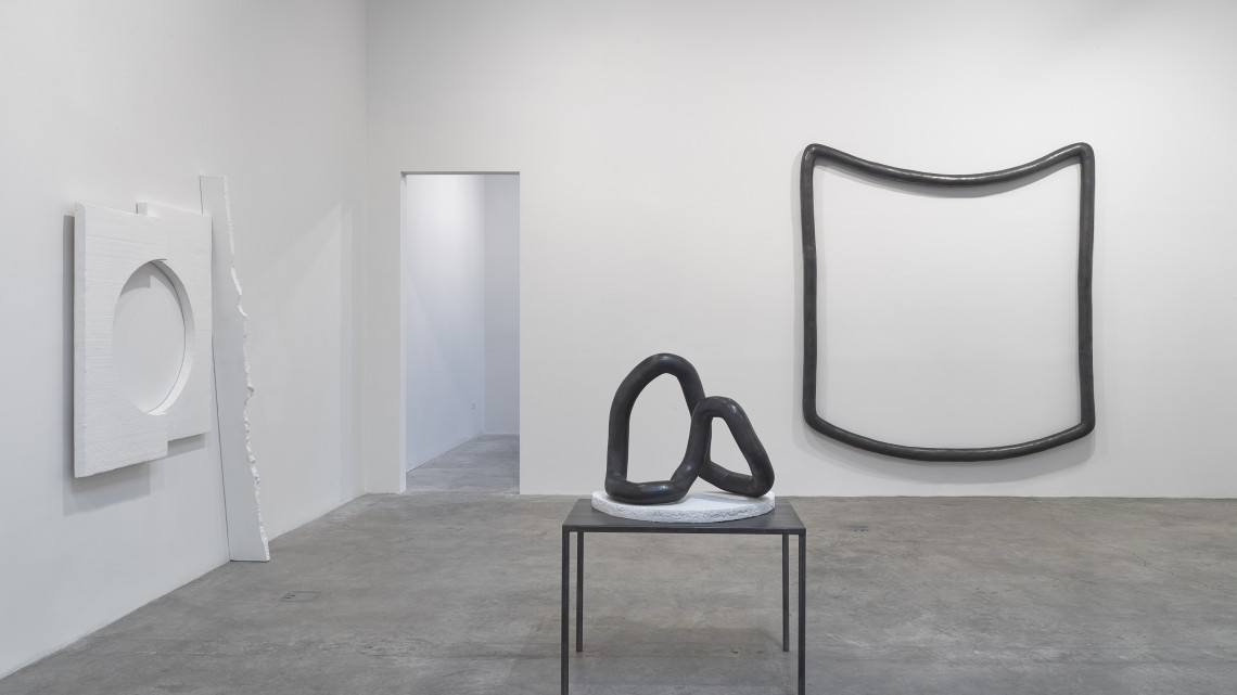Installation view, Carolyn Salas at Koenig & Clinton, New York, 2015. Courtesy of Koenig & Clinton.