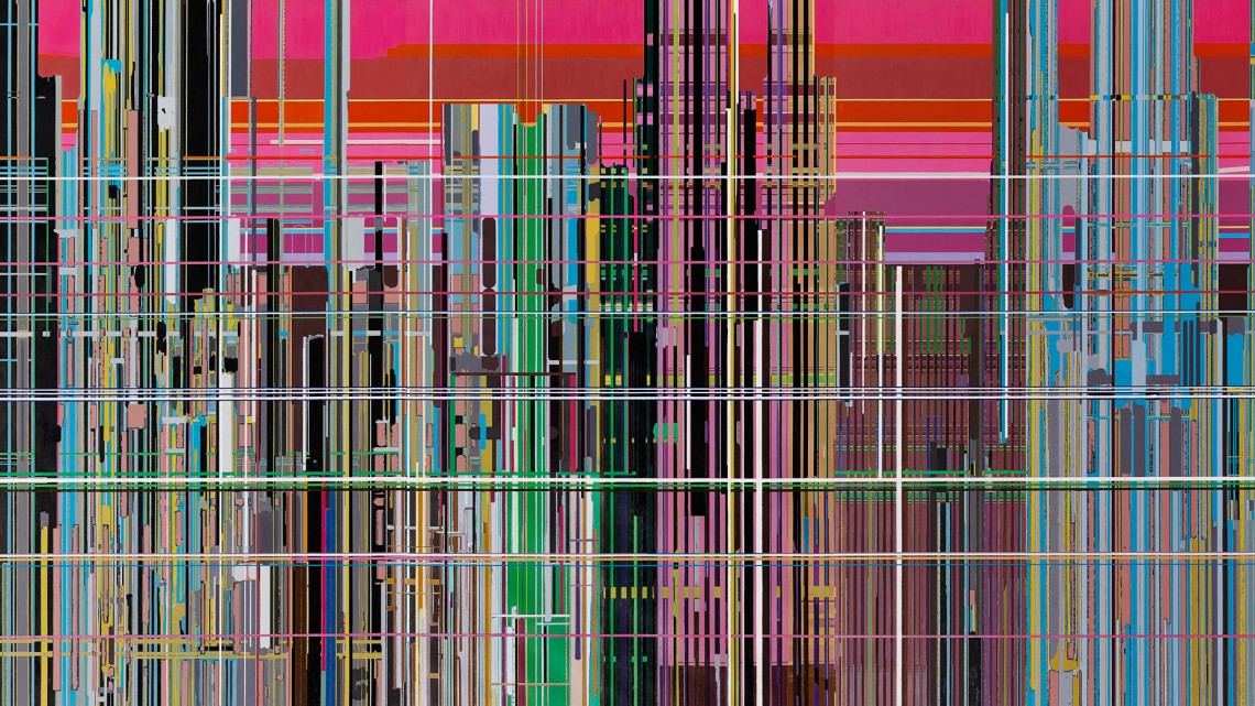 Liu Wei, Liberation No. 1, 2013. Oil on canvas. © Liu Wei. Courtesy of the Rubell Family Collection and the Asian Art Museum.