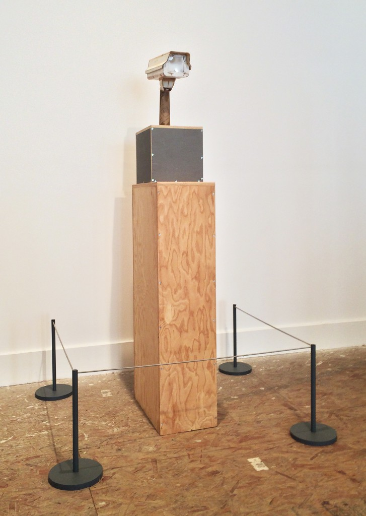 "Tom Sachs. ""Untitled"". 2014. Plywood, fiberglass, resin, and hardware. 25 x 10 x 13 inches"