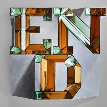 Doug Aitken, END (mirror), 2014. Courtesy of Victoria Miro Mayfair.