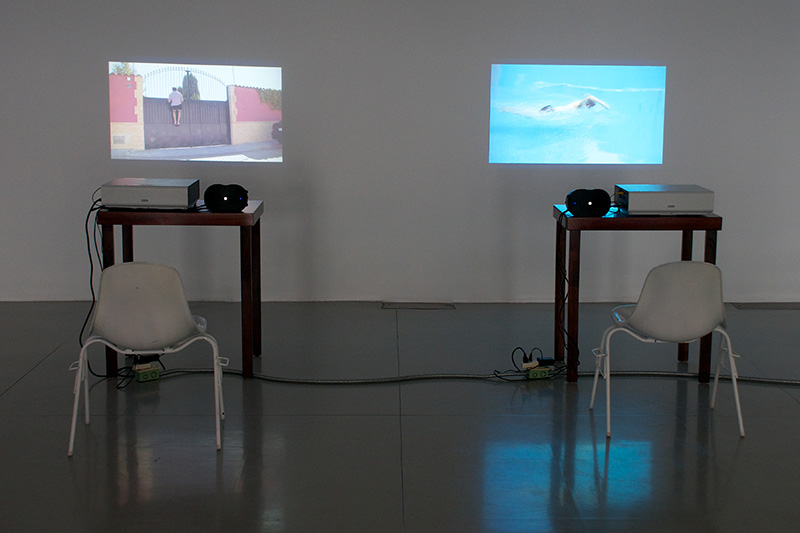 "Fermín Jiménez Landa. ""The Swimmer (Guadalajara),"" 2013. Video. 8'54''"