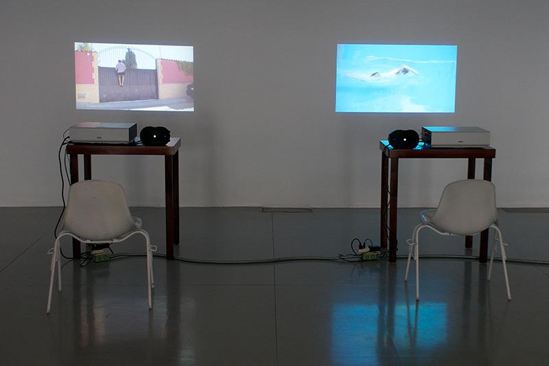 "Fermín Jiménez Landa. ""The Swimmer (Guadalajara),"" 2013. Video. 8'54''"