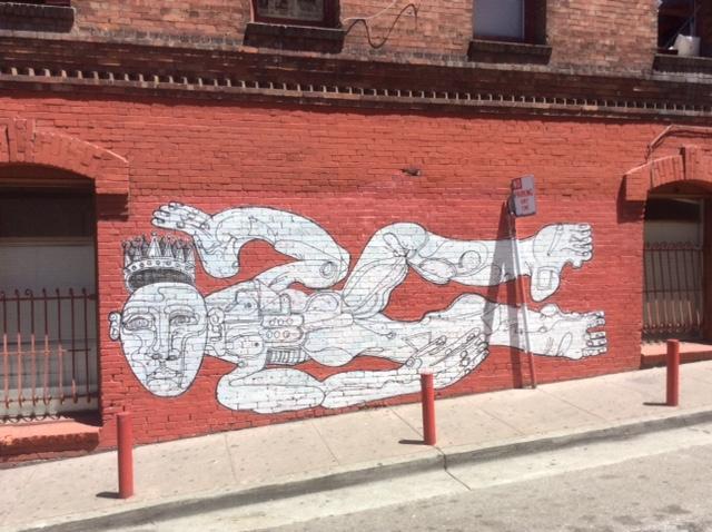 Chinatown Mural. Photo by John held Jr.