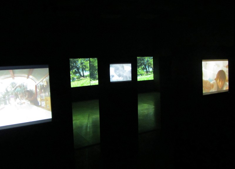 "Sarah Minter. Installation view of ""Intervalos"" at MUAC, UNAM, 2015."