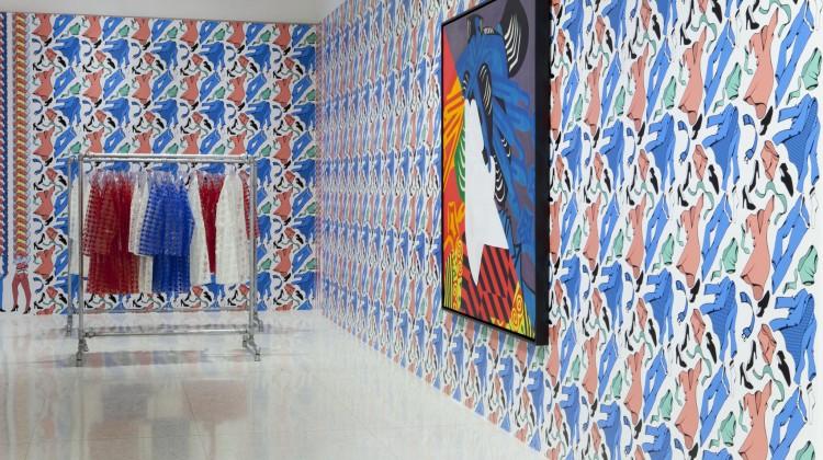 Installation view, International Pop at the Walker Art Center, Minneapolis, 2015. Photograph © Walker Art Center.
