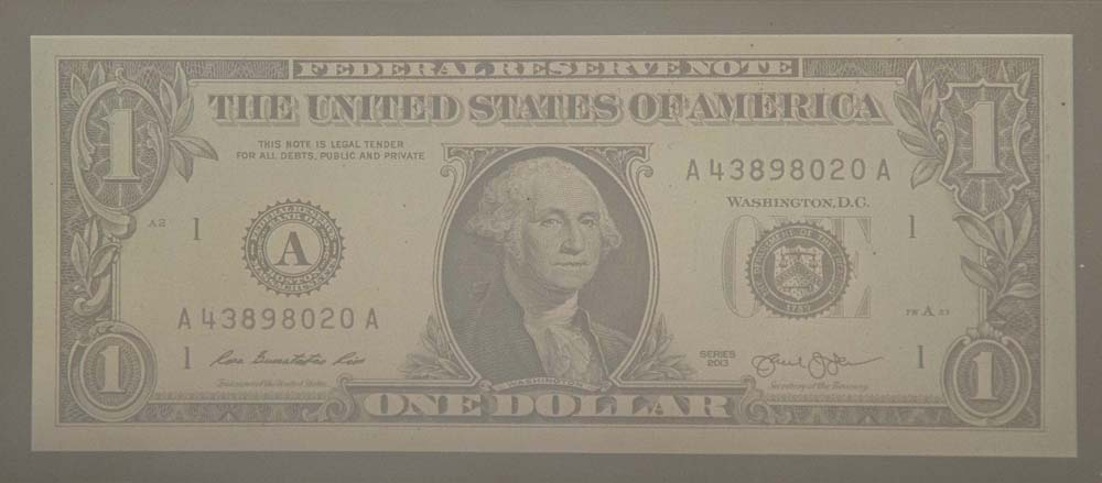 "Alice Shaw. ""Silver Dollar,"" 2015. Digital Daguerreotype, 3.5"" x 6.25"""