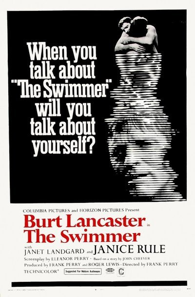 "Film Poster. ""The Swimmer,"" 1968."