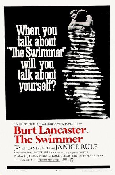 "Film Poster. ""The Swimmer,"" 1968."