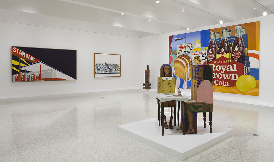 Installation view, International Pop at the Walker Art Center, Minneapolis, 2015. Photograph © Walker Art Center.