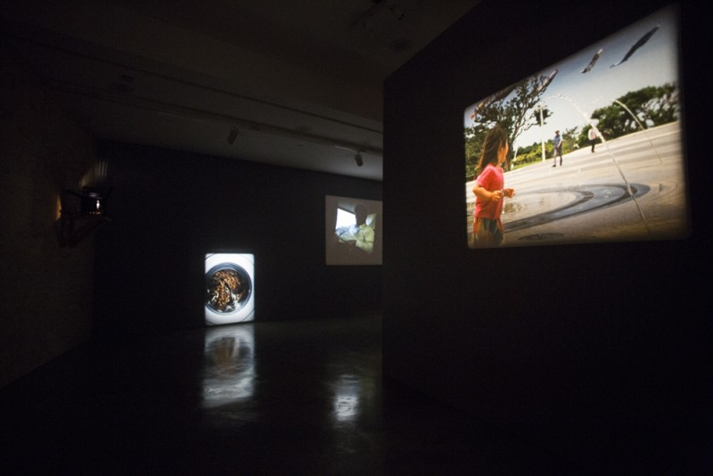João Maria Gusmão and Pedro Paiva, installation view, REDCAT, Los Angeles, 2015. Photo: Rafael Hernandez.