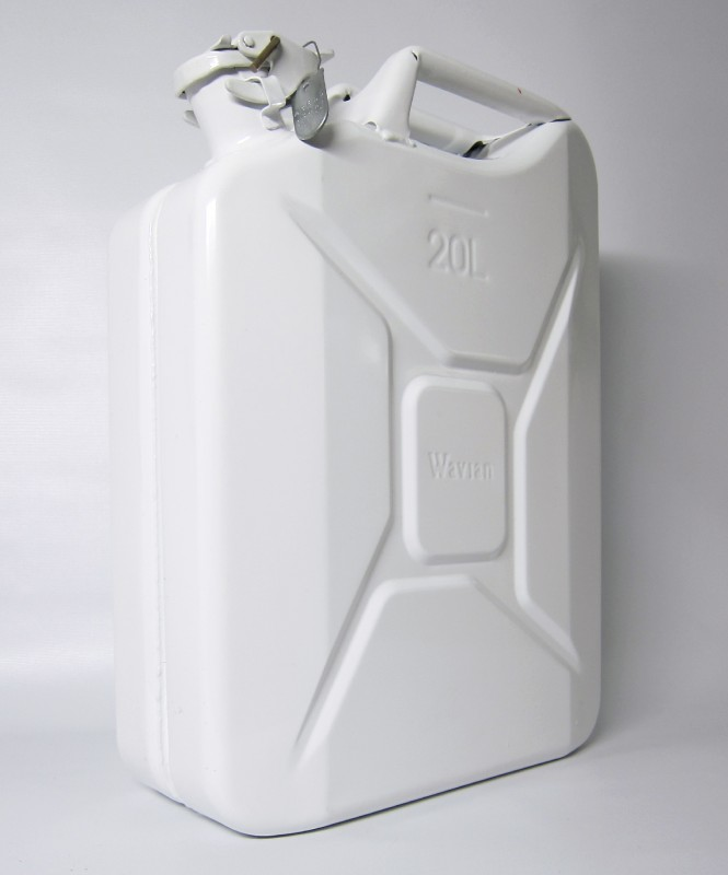 Adam McEwen, Jerrycan (holy water), 2011. Courtesy of 871 Fine Arts.