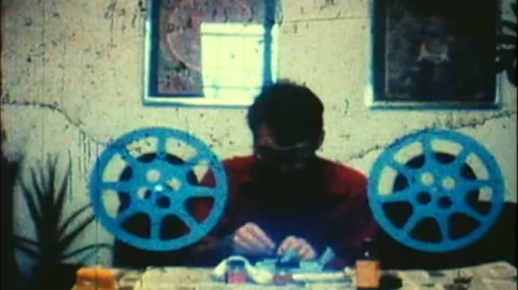 Saul Levine, A Few Tunes Going Out: Groove to Groove (film still), 1978-1984. Super 8 film, sound, 12 minutes. Courtesy of the artist and Chin's Push.