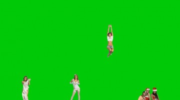 """Petra Cortright. From the exhibition, """"Niki, Lucy, Lola, Viola,"""" 2015"""
