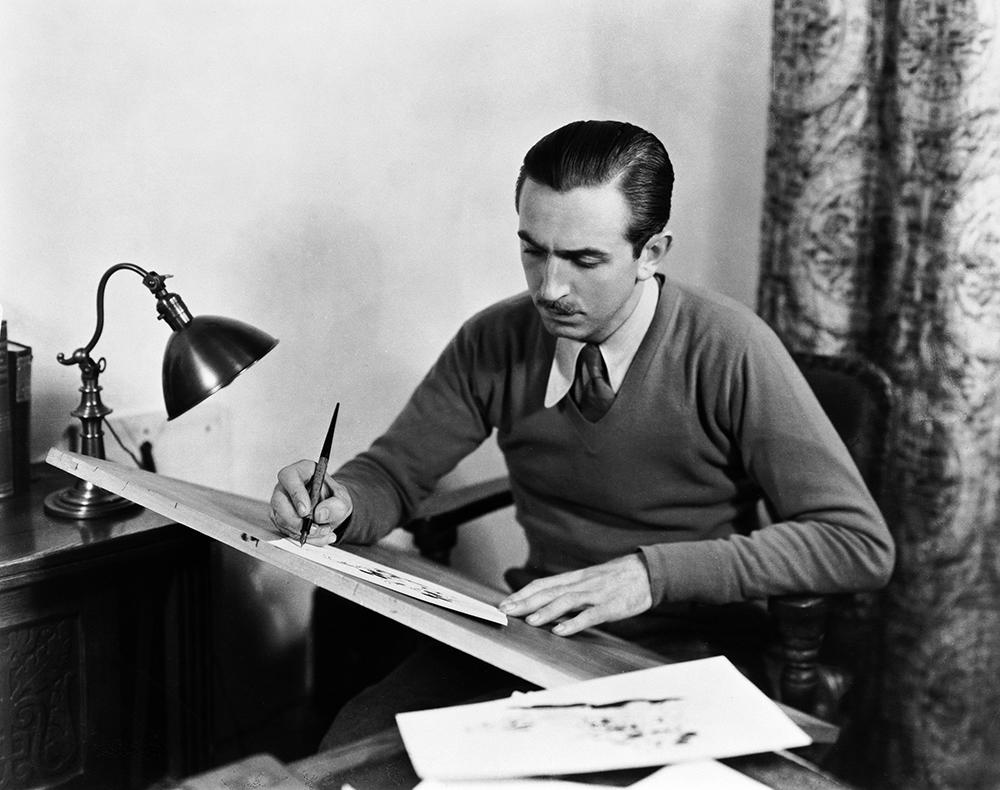 Walt Disney, ca. 1930s. Courtesy of The Walt Disney Company, © Disney