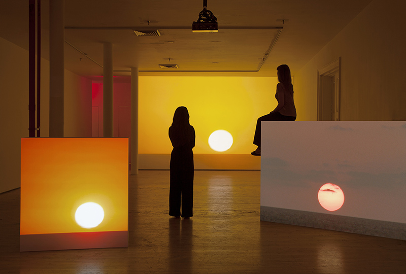 """Andrea Galvani. Installation detail of """"The End [Action #1]"""""""
