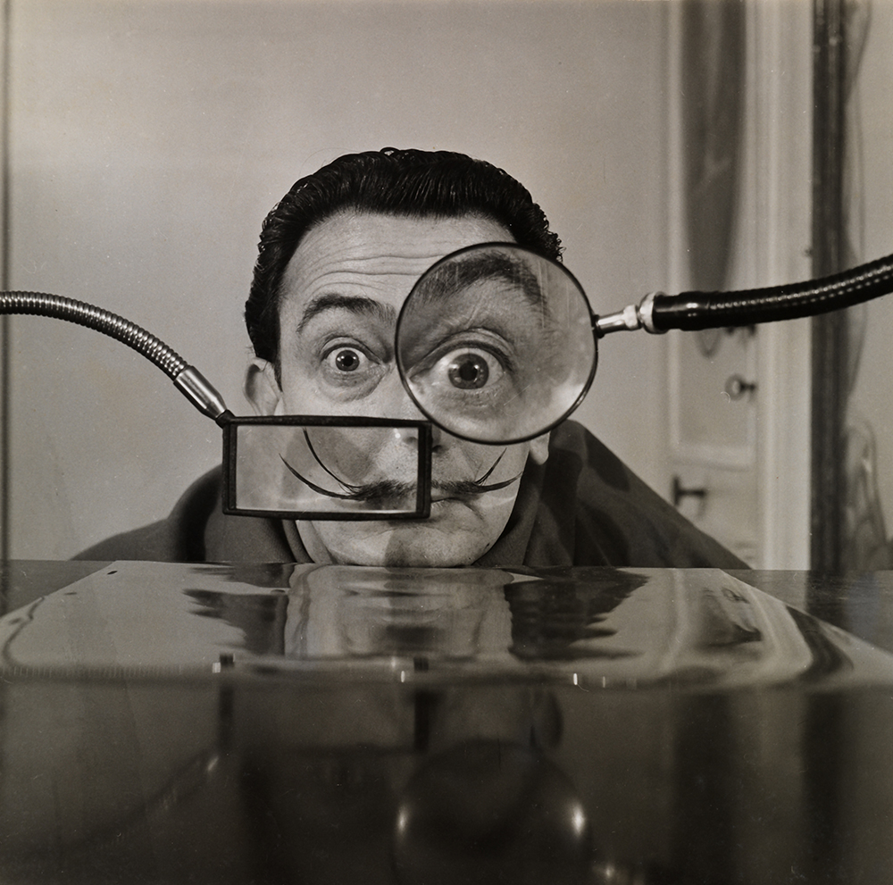 Salvador Dalí, 1950. Photograph by Willy Rizzo for Paris-Match. Collection Gala-Salvador Dalí Foundation.