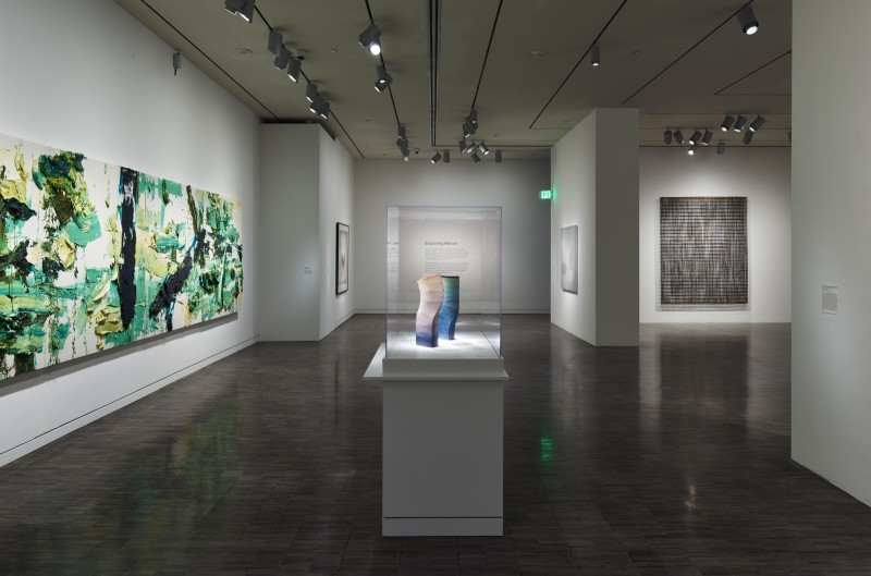 Installation view of First Look: Collecting Contemporary at the Asian, 2015, Asian Art Museum of San Francisco.