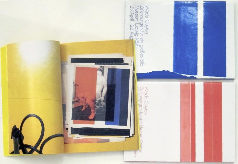 Wade Guyton, Zeichnungen books, 2010-13. Courtesy of Jeremy Sanders, 6 Decades Books, and 871 Fine Arts.