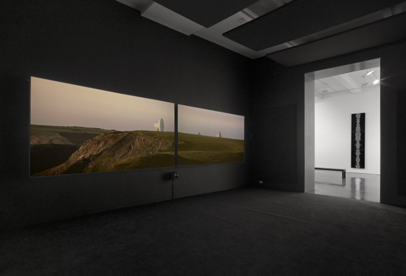 Trevor Paglen. Installation view, Metro Pictures, 2015. Courtesy of the artist and Metro Pictures.