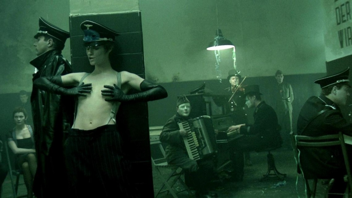 The Night Porter (film still), 1974. Directed by Liliana Cavani, distributed by The Criterion Collection. 118 minutes. Courtesy of the Internet.