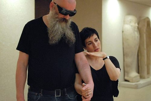Gema Álava, Trust Me. Performance during Month of Performance Art-Berlin, 2014.