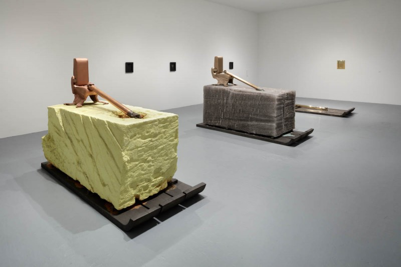 Installation view of Matthew Barney: RIVER OF FUNDAMENT at The Geffen Contemporary at MOCA, September 13, 2015–January 18, 2016, courtesy of The Museum of Contemporary Art, Los Angeles, photo by Fredrik Nilsen