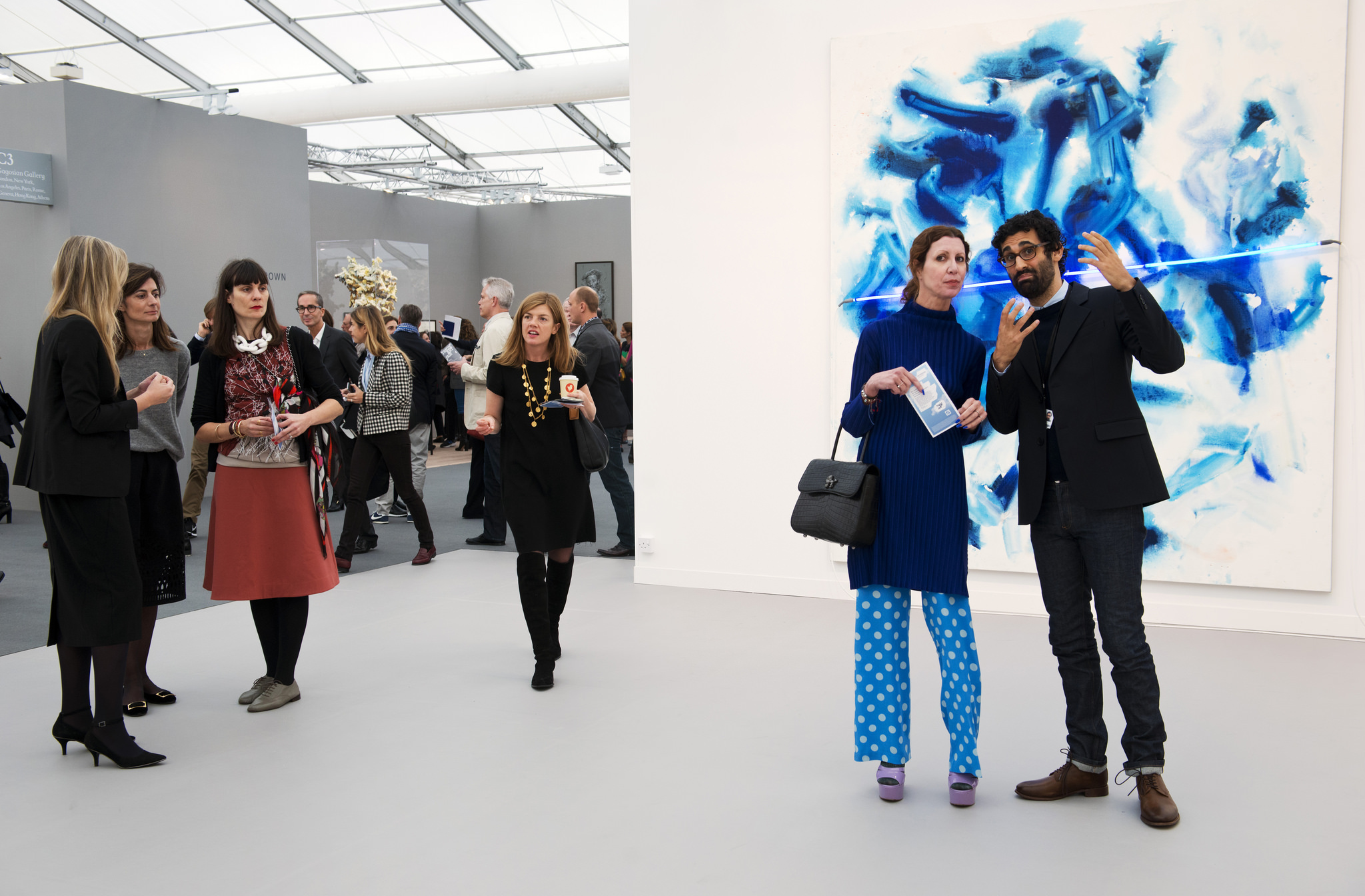 David Kordansky, Frieze London, 2015. Courtesy of Frieze London.