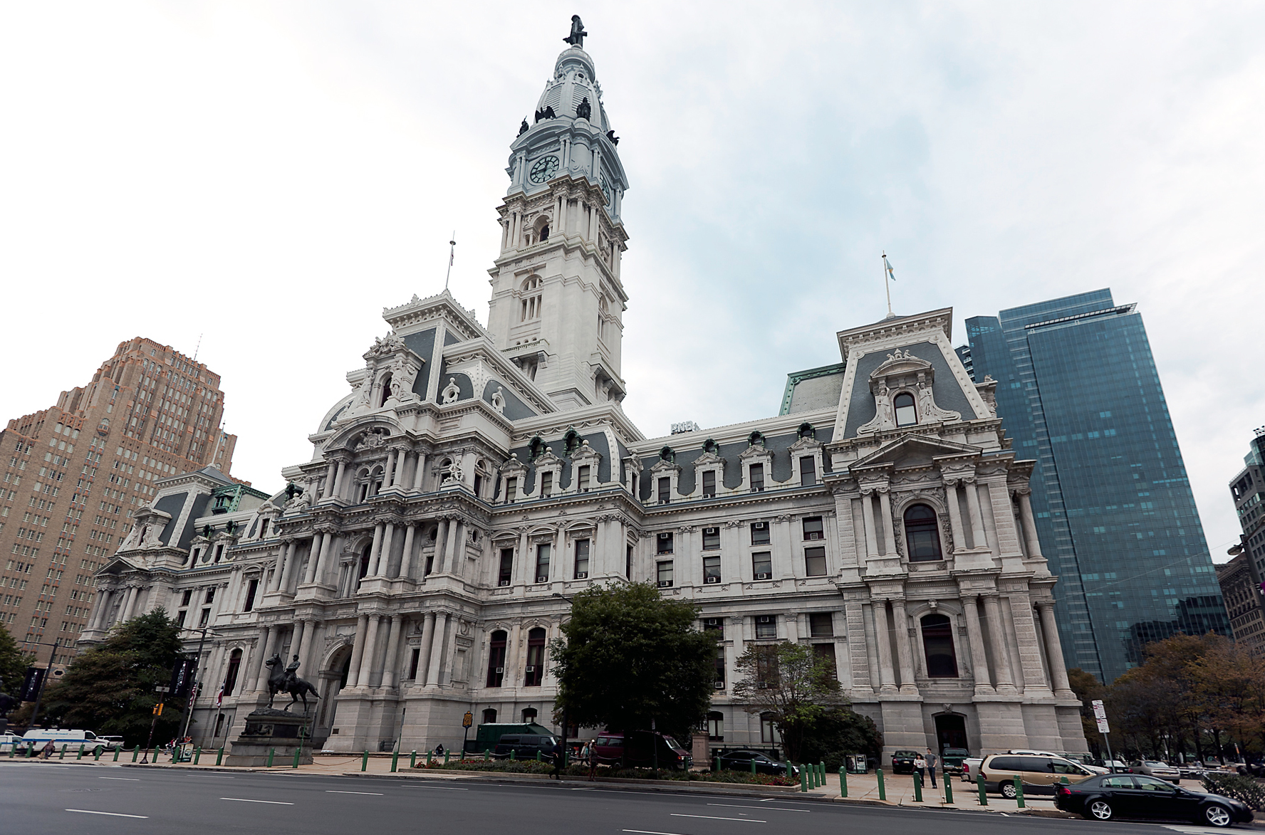Philadelphia City Hall in Philadelphia, PA. Tallest building in the world from 1901 to 1908. Courtesy of the Internet.