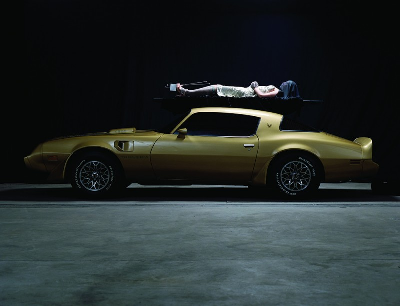 "Matthew Barney and Jonathan Bepler. ""River of Fundament,"" 2014. Production still, courtesy of Gladstone Gallery, New York and Brussels, © Matthew Barney, photo by Chris Winget."