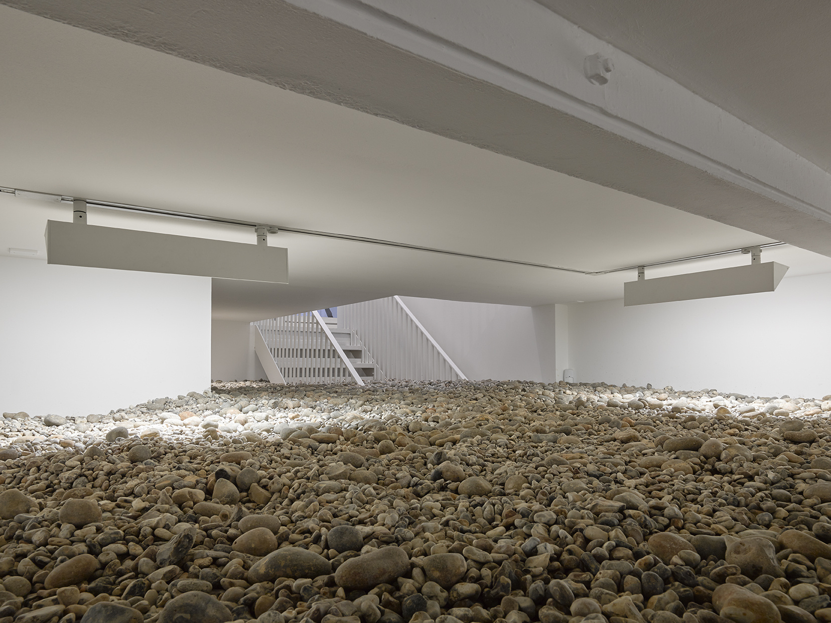 "Ryan Gander. Installation view of ""Fieldwork"" at Lisson Gallery, September 25 - October 31, 2015.  Courtesy Lisson Gallery."