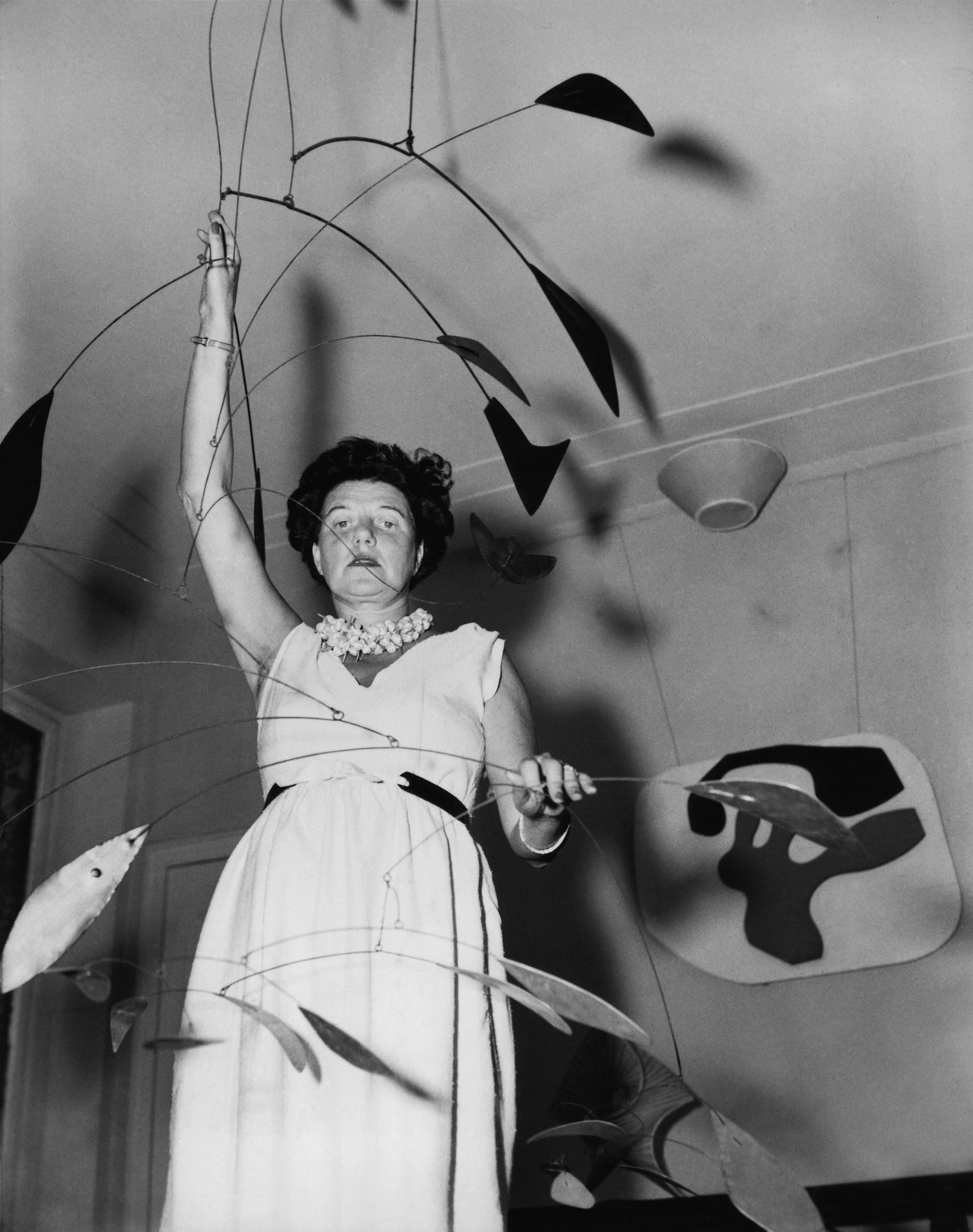 "Still from ""Peggy Guggenheim: Art Addict,"" 2015. Director: Lisa immordino Vreeland. Image courtesy of Vancouver International Film Festival."
