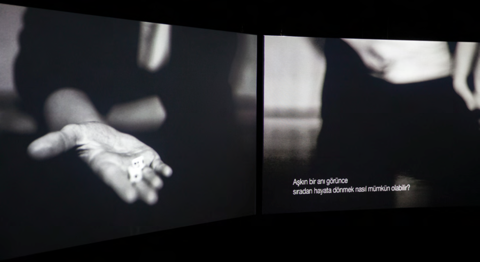 Didem Pekün, Of Dice and Men, 2011. Video Loop, 29 minutes. Courtesy of SALT and the artist. Photography by Baris Dogrusoz.