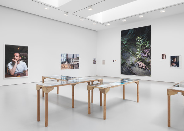 Wolfgang Tillmans. Installation view from the 2015 solo exhibition PCR at David Zwirner, New York. Courtesy David Zwirner, New York.