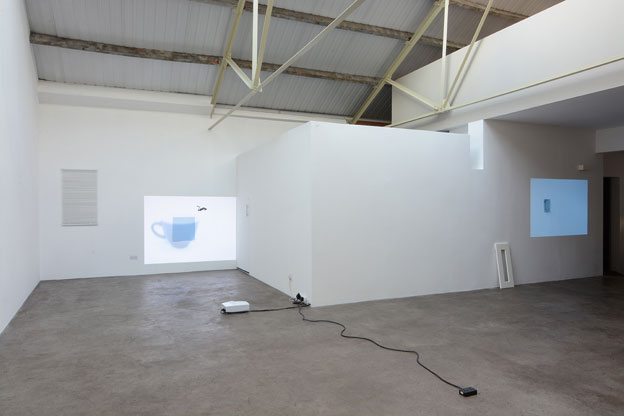"Lee Kit. ""Please wait"" Installation view. 2015. Courtesy mother's tankstation."