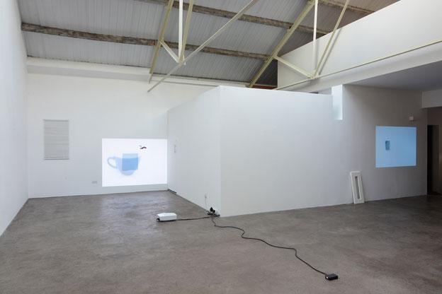 "Lee Kit. ""Please wait"" Installation view. 2015. Courtesy mother's tankstation."